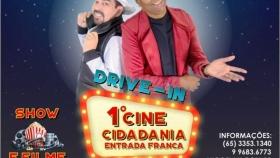 1º CINE CIDADANIA (Drive-In/Live) ENTRADA FRANCA